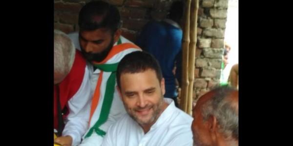 किसान यात्रा : राहुल ने कहा, यूपी में किसानों का कर्ज माफ करेगी कांग्रेस