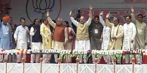 Amit Shah in Haryana : आस्था रैली में बोले- चीफ ऑफ आर्मी स्टाफ दुश्मन के लिए वज्र के समान होगा