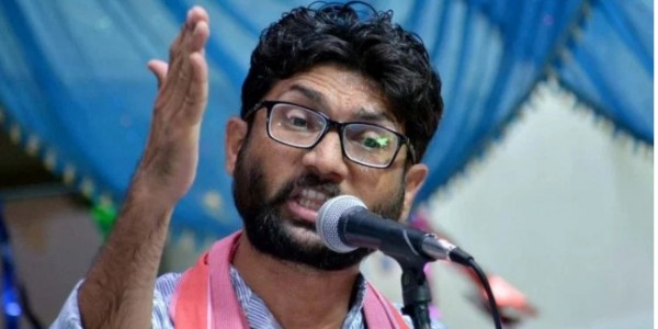 Chaos After Meeting Of Jignesh Mevani In East Delhi