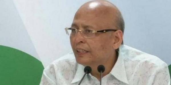 सिंघवी बोले- NIA बिल को फेडरल ढांचे के खिलाफ बता चुके हैं PM मोदी