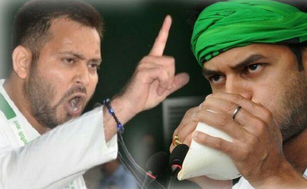 बिहार की राजनीति में अपना जनाधार तलाश रहे यादव  brothers