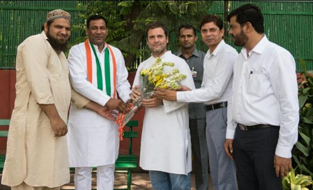 Meeting with Rahul Gandhi ji