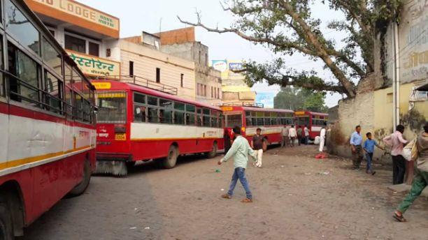 सहारनपुर से दिल्ली तक बस की परेशानी