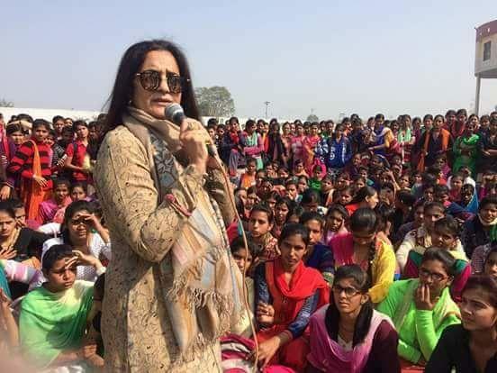 CLP leader Haryana madam kiran choudhary