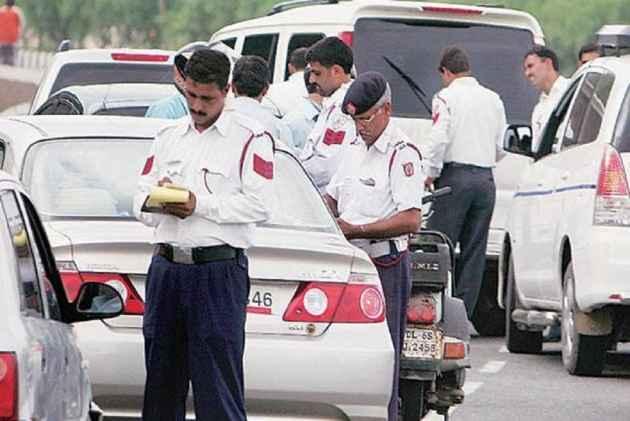 Traffic police creating jams