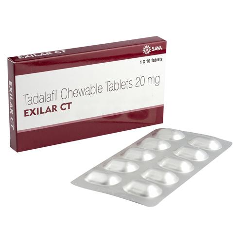 シアリスソフトタブジェネリック(エキシラーCT)10錠
