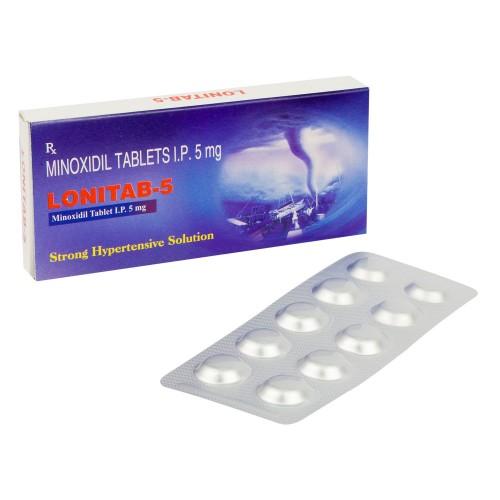 ロニタブ5mg(ミノキシジル錠)