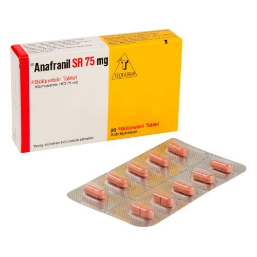アナフラニールSR75mg(クロミプラミン)