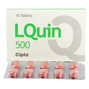 クラビットジェネリック(LQUIN)500mg