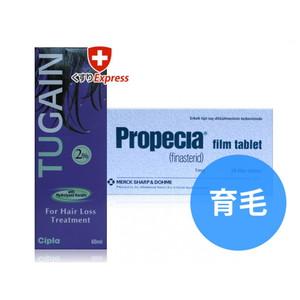 プロペシア + ツゲイン(ミノキシジル2%外用薬)セット
