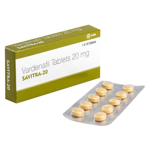 レビトラジェネリック・サビトラ20mg(SAVITRA)10錠