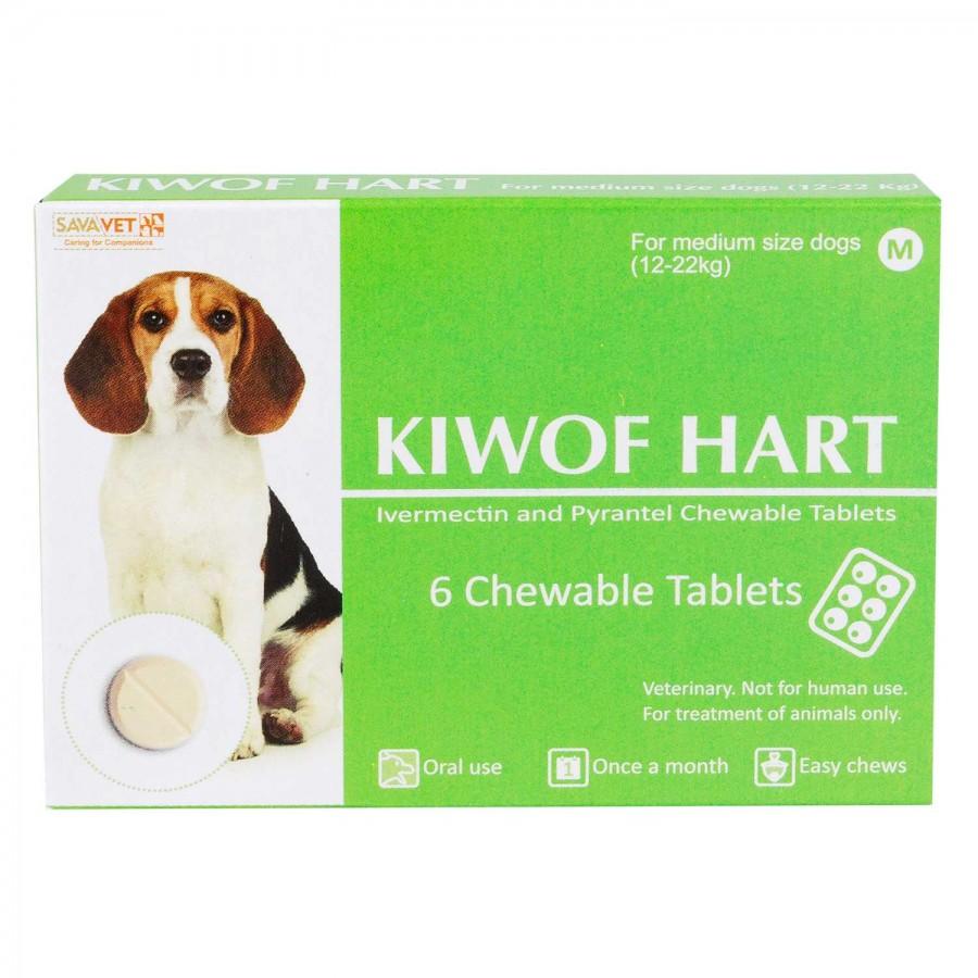 キウォフハート中型犬用