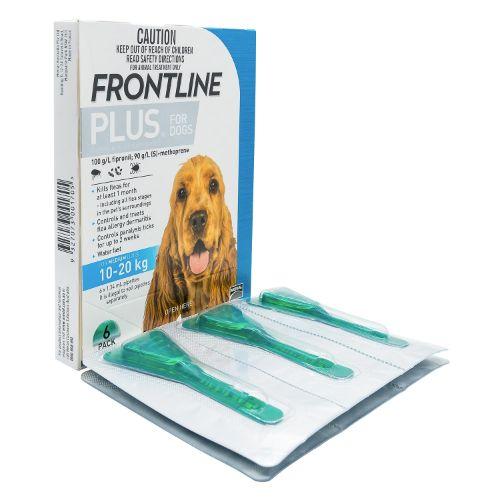 フロントラインプラス中型犬用6本入り