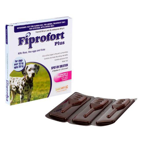 フィプロフォートプラス中型犬用(6本入り)