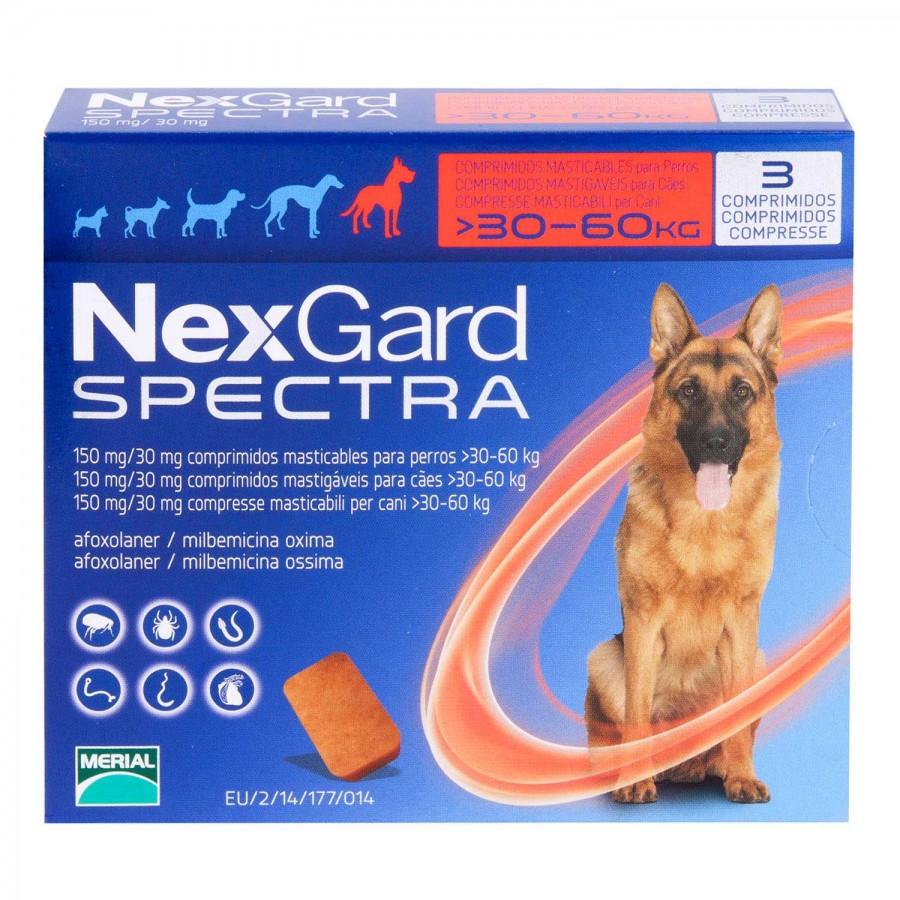 ネクスガードスペクトラ超大型犬用30~60kg未満