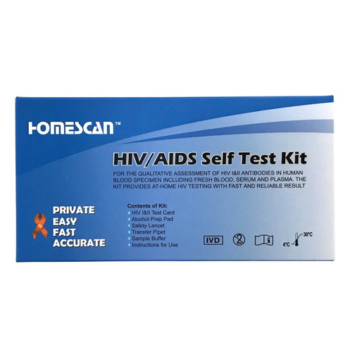 HIV・エイズ検査キット(自宅用)