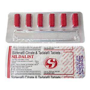 シルダリスト(バイアグラ+シアリス)の通販なら個人輸入代行の海外薬局