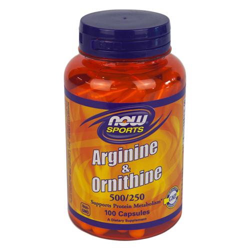 L-アルギニン500mg&L-オルニチン250mg(お得な100粒)