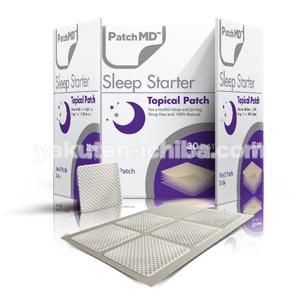 スリープスタータ―パッチ30(睡眠障害改善)の通販なら個人輸入代行のメデマート