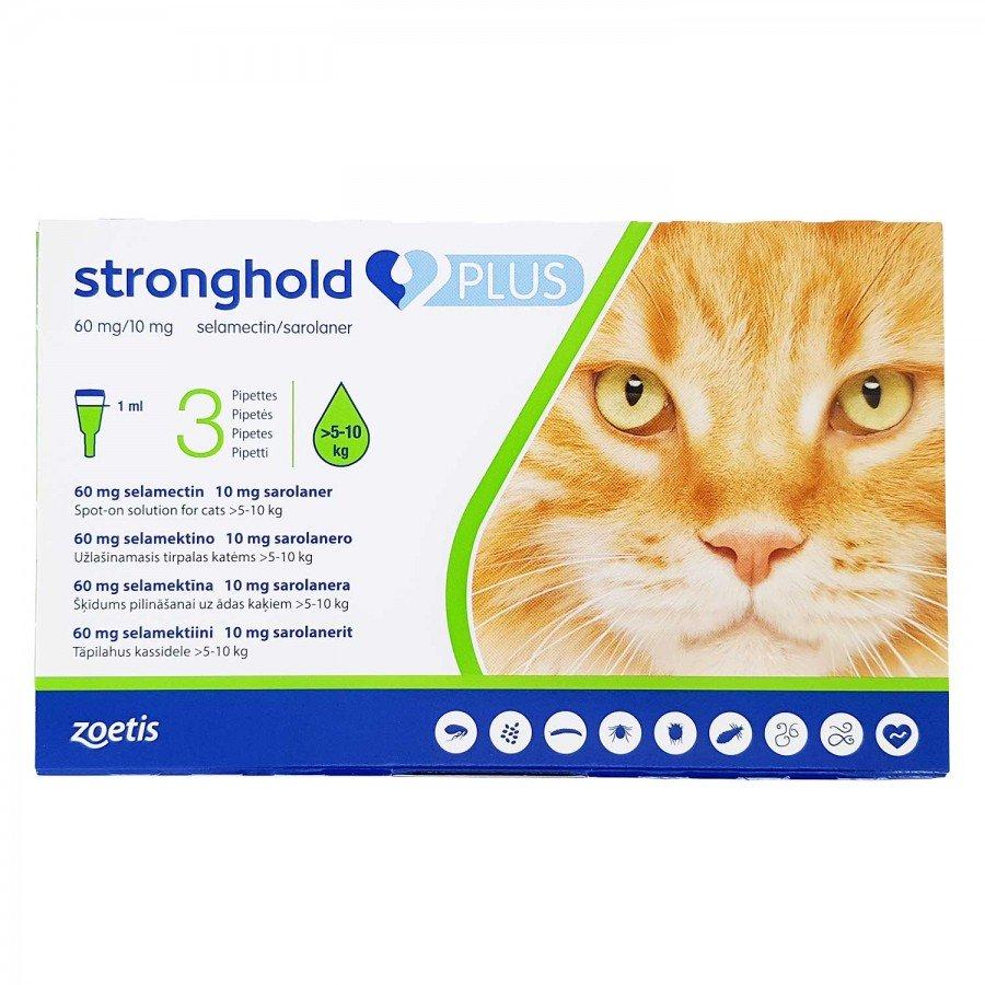 ストロングホールドプラス猫用(5~10kg未満)3本-1303