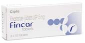 フィンカー(Fincar)はプロスカール(Proscar, 5mg)のジェネリック医薬品です。