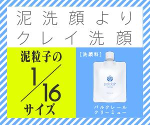 天然クレイでニキビケア洗顔『パルクレール』購入-300x250