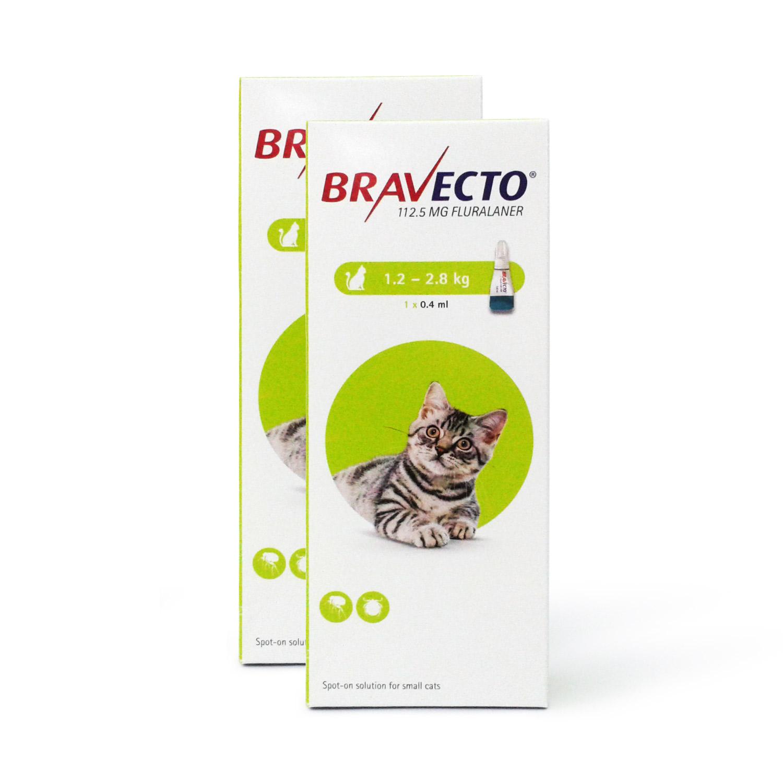 ブラベクト猫用(1.2~2.8kg)2本