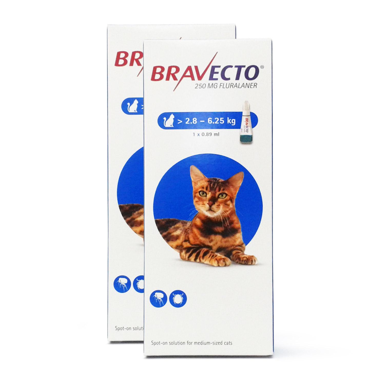 ブラベクト猫用(2.8~6.25kg)2本