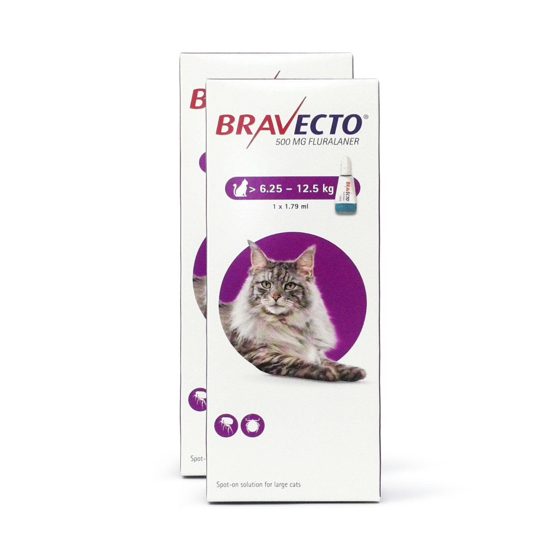 ブラベクト猫用(6.25~12.5kg)2本