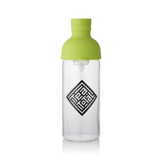 フィルター付きボトル 300ml【TeaTotalロゴ入り / グリーン】