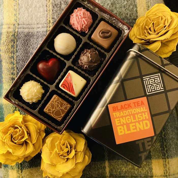 パティシエ特製チョコレートセット – ティートータル バレンタイン スペシャル