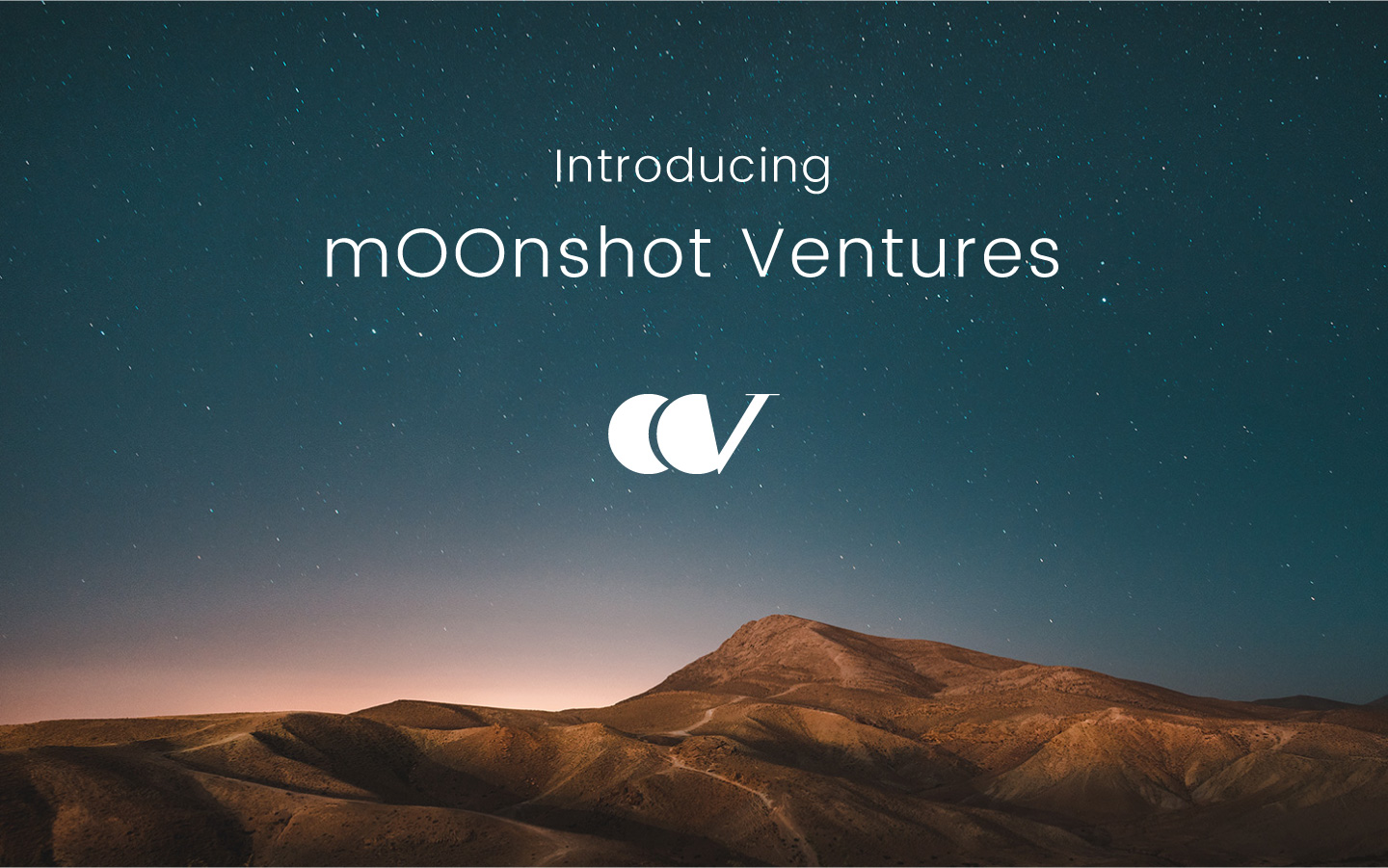 Introducing mOOnshot Ventures