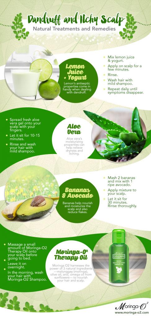 Dandruff and Itchy Scalp Remedies - Moringa-O2