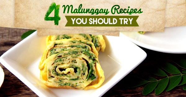 4 Malunggay Recipes You Should Try