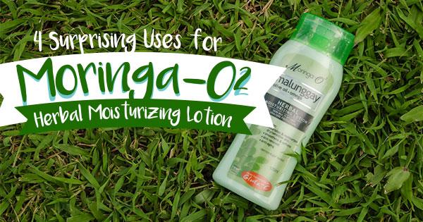 4 Surprising Uses for Moringa-O2 Herbal Moisturizing Lotion