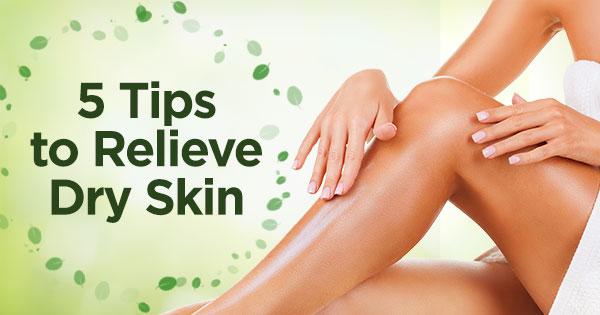 Moringa-O2 - 5 Tips to Relieve Dry Skin