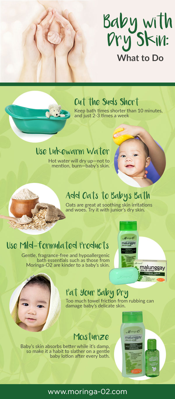 Baby with Dry Skin: What to Do