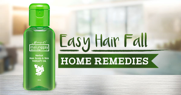 Easy Hair Fall Home Remedies