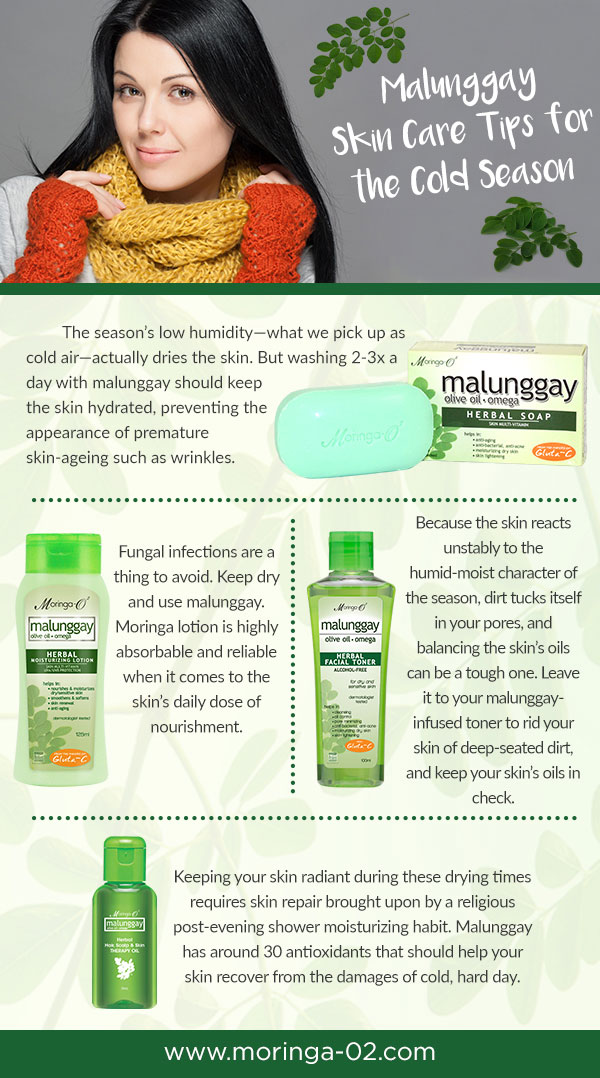 Malunggay Skin Care Tips for the Cold Season