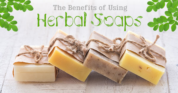 The Benefits of Using Herbal Soaps