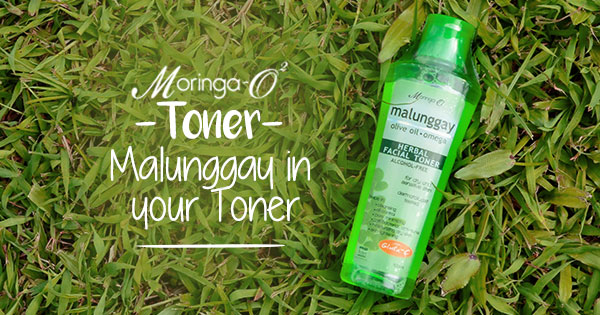 Moringa-O2 Toner: Malunggay in Your Toner