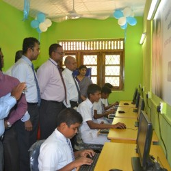 Mother Sri Lanka Trust & Commercial Bank IT Lab Donations