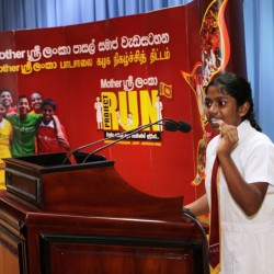 Mother Sri Lanka Project RUN Schools Clubs Program Begins