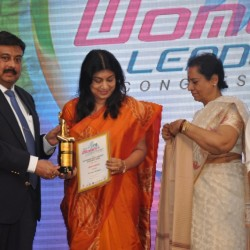 OUTSTANDING WORLD WOMEN LEADERSHIP AWARDED TO JANAKI KURUPPU