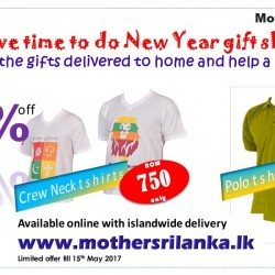 Celebrate Sinhala and Tamil New Year with Mother Sri Lanka T shirt promo