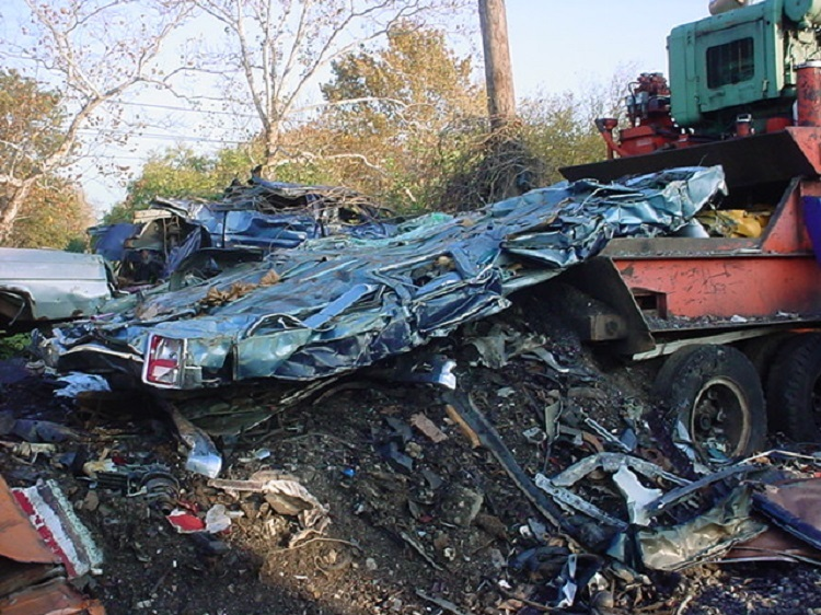 Motorist Deregistered Car Scrapyard 5