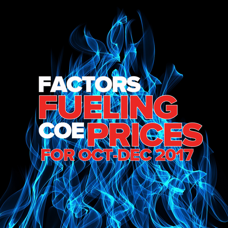 Motorist Factors Fueling Coe Prices 2017