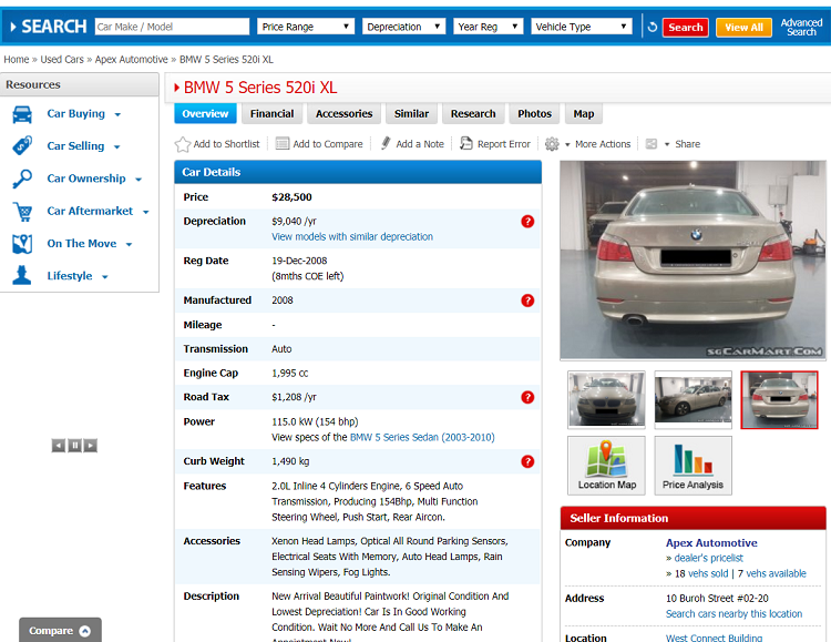 Motorist Caltex Bmw For Sale Online