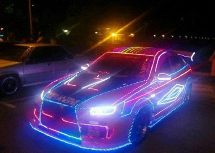 Motorist Neon Light Mod