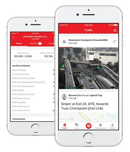 Motorist App Screenshot